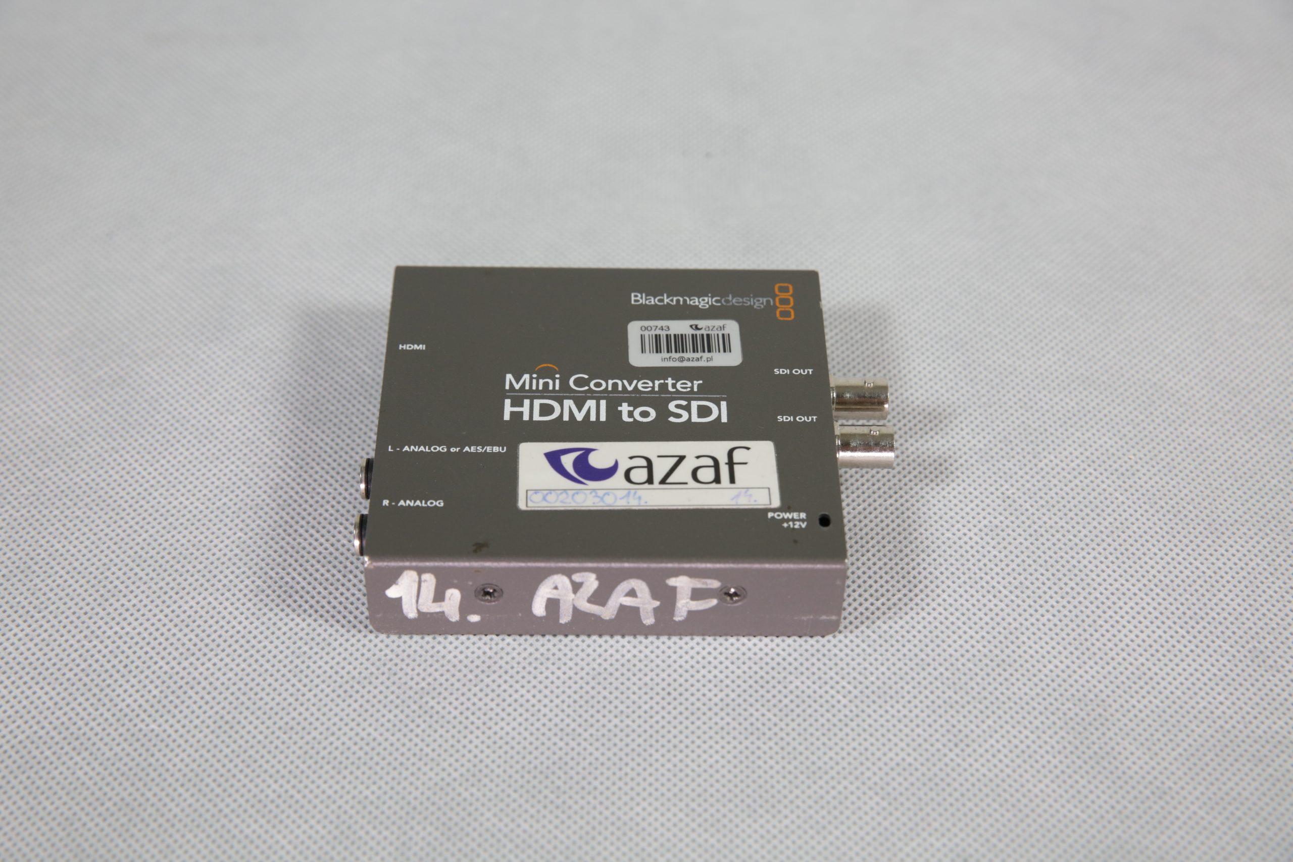 Black Magic HDMI to SDI
