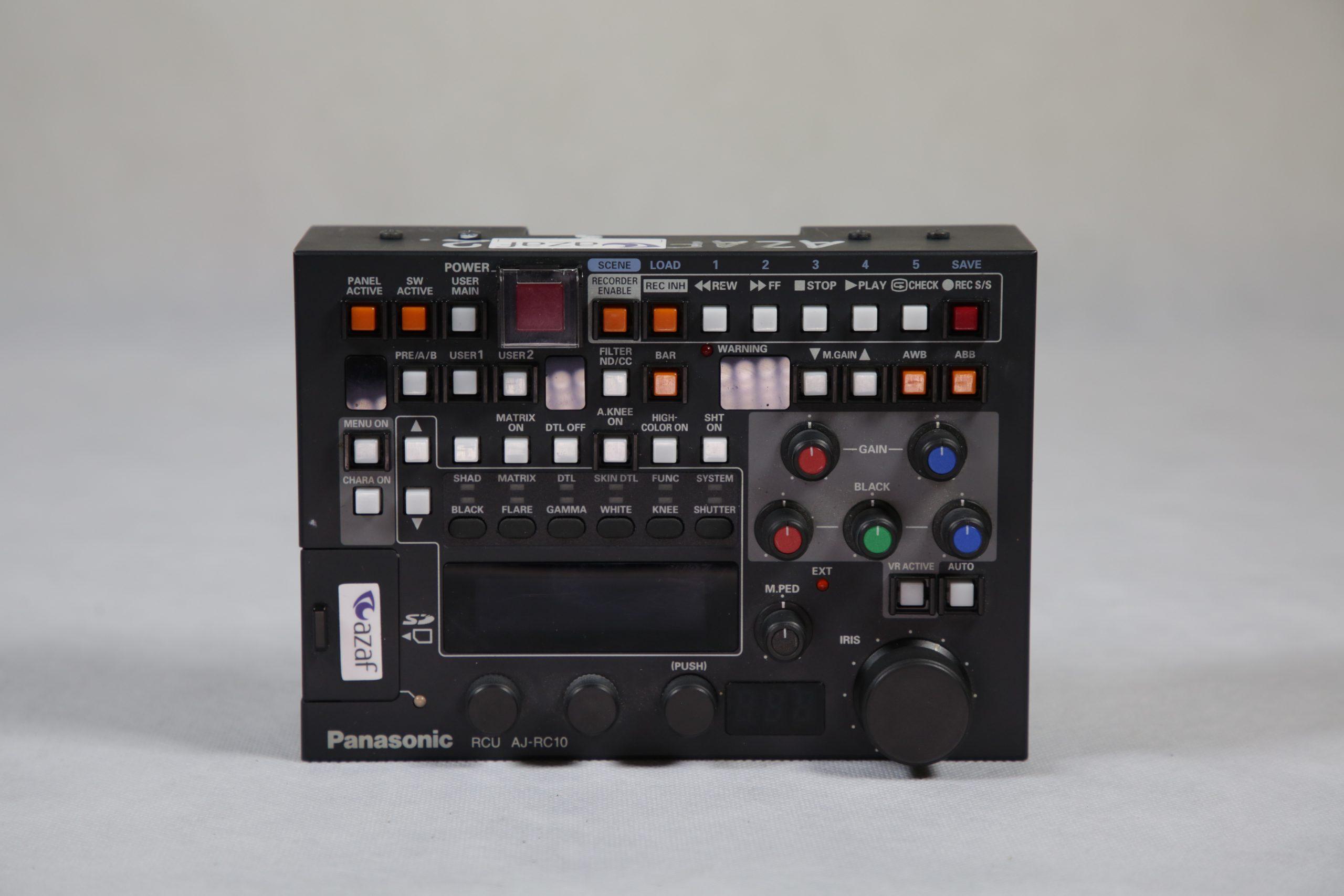 Panasonic RCU AJ-RC10