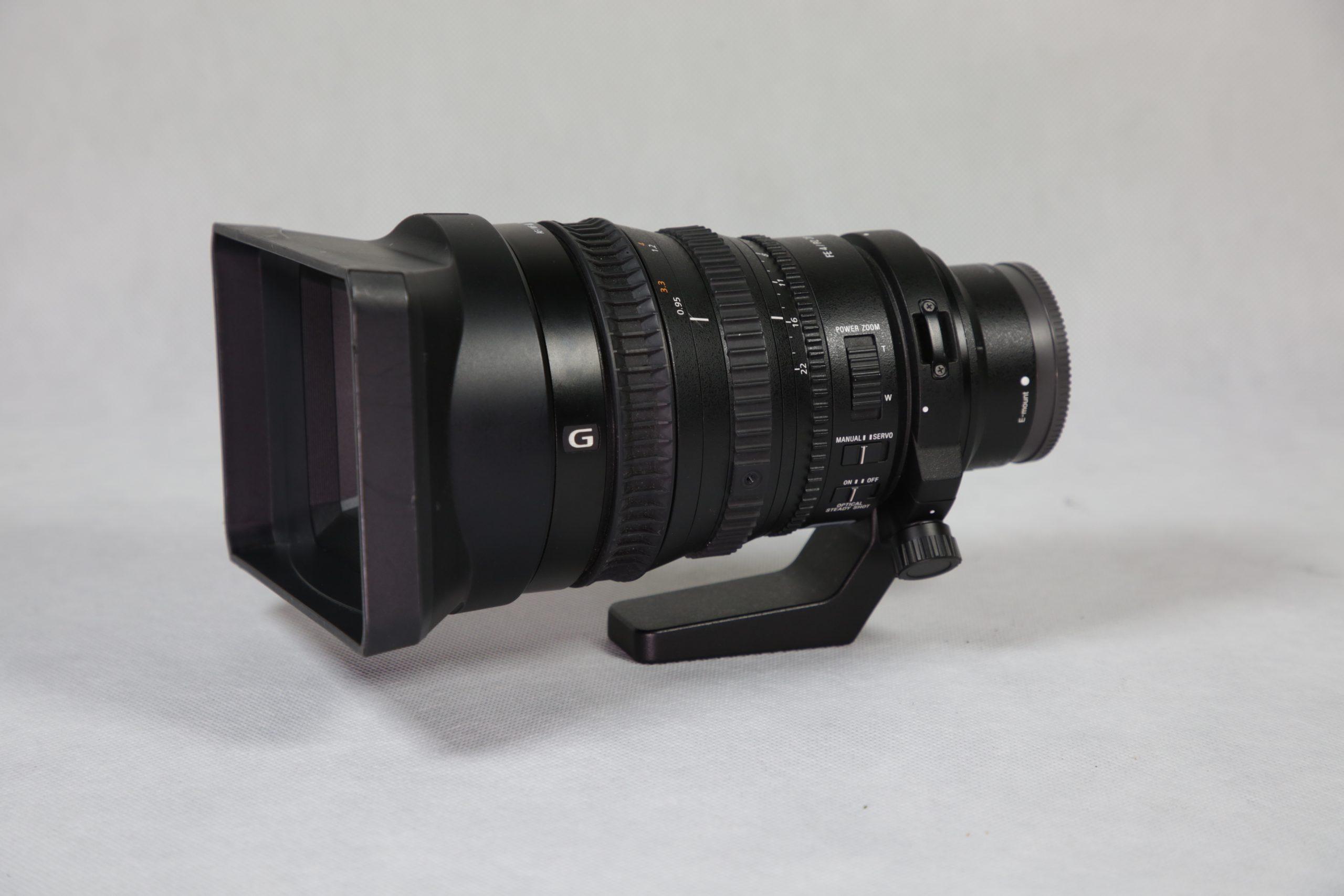 Sony FE PZ 28 - 135mm f4 G OSS