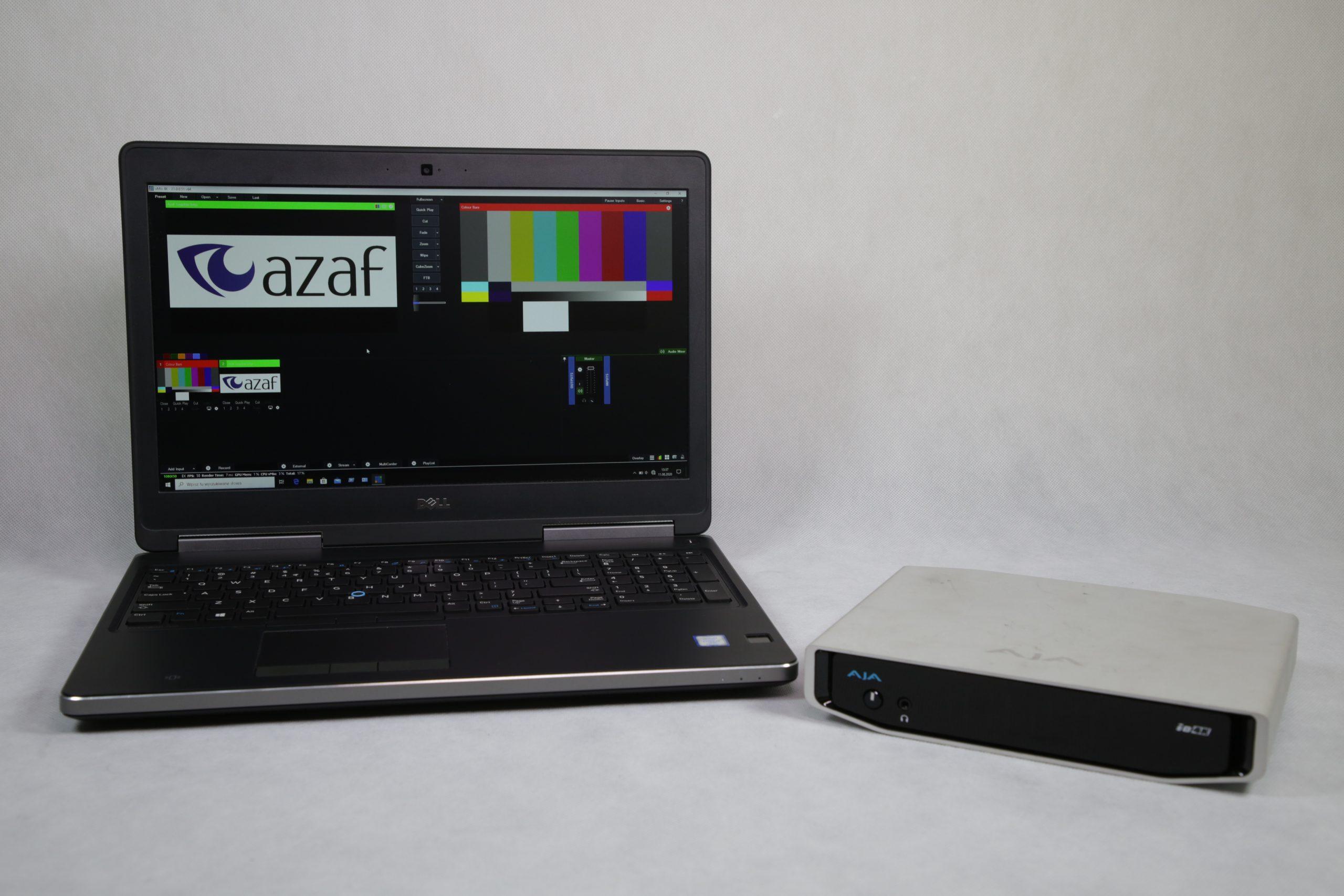 vmix 4K + AJA IO 4K (streaming)