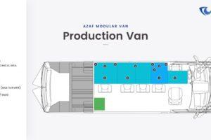 AZAF VAN production van layout