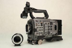 Sony PXW-FX9 + Metabones (z soczewką lub bez)
